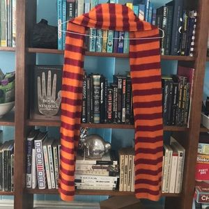 6 ft striped wool Gryffindor scarf